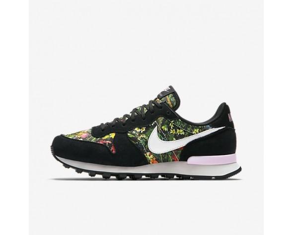 Nike Internationalist Premium Damen Schuhe Schwarz/Prism Rosa/Summit Weiß 828404-007