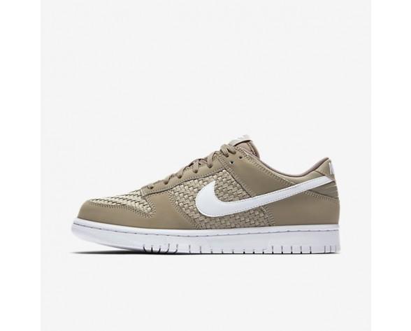Nike Dunk Low Herren Schuhe Khaki/Weiß 904234-200