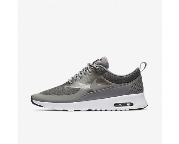 Nike Air Max Thea Knit Damen Schuhe Dust/Schwarz/Weiß/Metallic Pewter AA1109-003