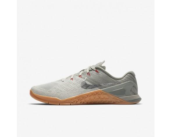 Nike Metcon 3 Herren Trainingsschuhe Dunkler Stuck/Blassgrau/University Rot/Metallic Silber 852928-010