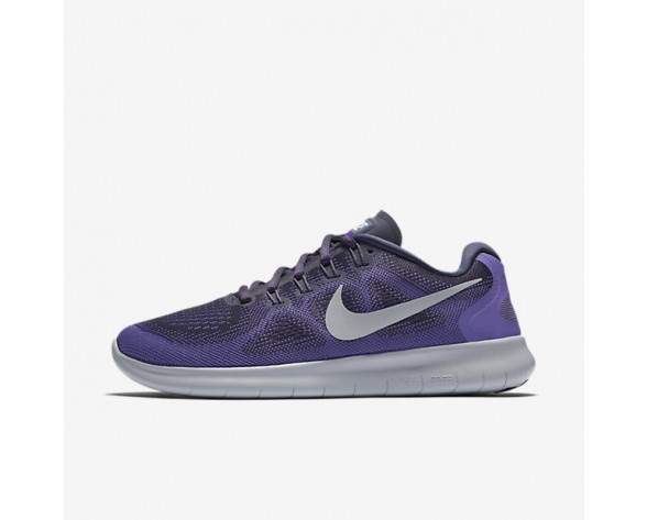 Nike Free RN 2017 Damen Laufschuhe Dunkel Raisin/Violett Earth/Hyper Grape/Reines Platin 880840-500