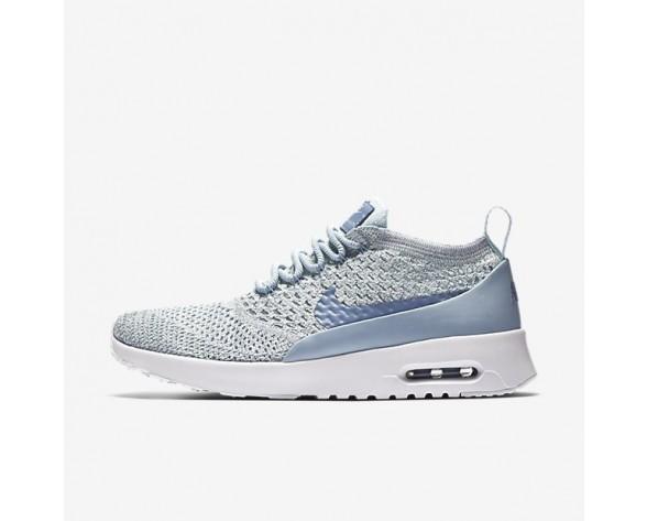 Nike Air Max Thea Ultra Flyknit Damen Schuhe Light Waffenkammer Blau/Weiß/Glacier Blau/Work Blau 881175-401