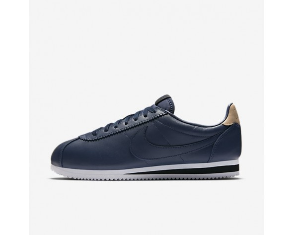 Nike Classic Cortez Leather SE Herren Schuhe Midnight Navy/Schwarz/Vachetta Tan 861535-400