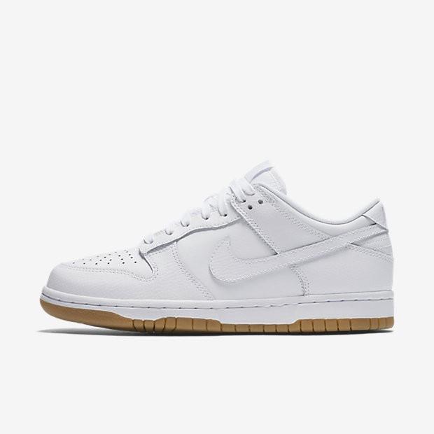 Billig preise Nike Dunk Retro Low Damen Schuhe Weiß/Reines Platin ...