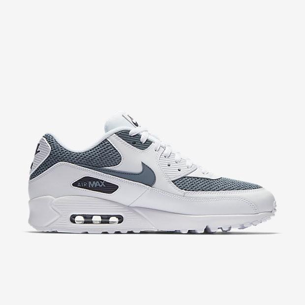 buy online 01d7b 87d70 Nike Air Max 90 Essential Herren Schuhe Weiß/Waffenkammer Blau/Obsidian  537384-133