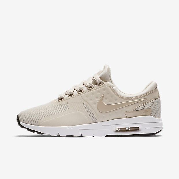 competitive price 4fe32 1c2bf Nike Air Max Zero Damen Schuhe Light Orewood Braun Weiß Schwarz Oatmeal  857661-103
