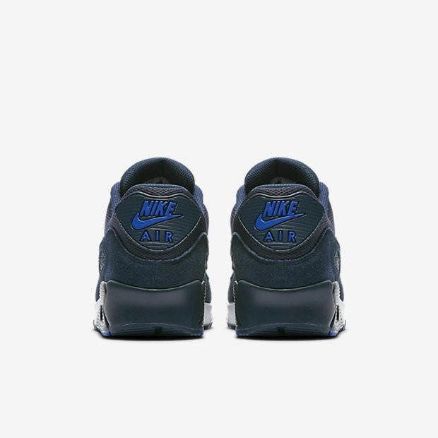 lowest price 50501 9434f Nike Air Max 90 Essential Herren Schuhe Armoury Navy/Blau Jay/Weiß 537384-.  Regulaerer Preis: 124,89 €