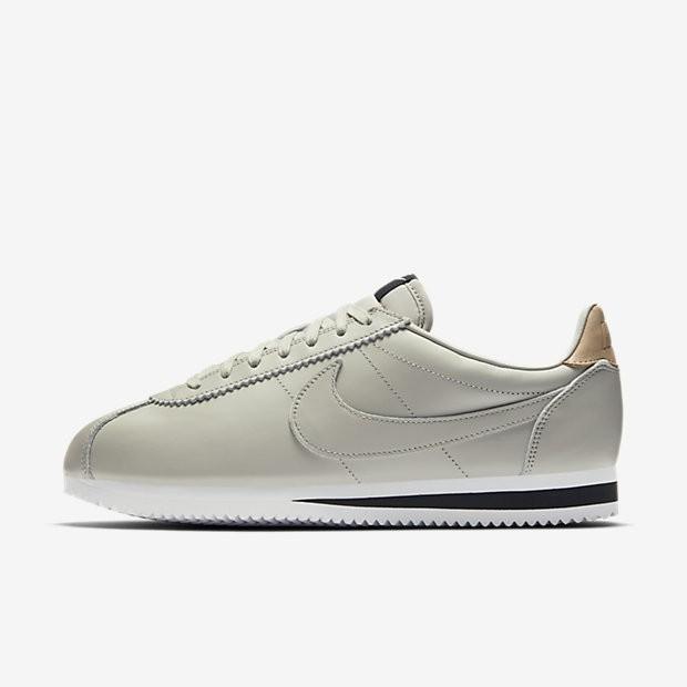 best website d59a5 a9650 Nike Classic Cortez Leather SE Herren Schuhe Blassgrau/Schwarz/Vachetta Tan  861535-005