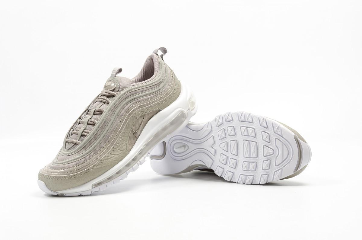 Nike Damen Air Max 97 Premium Grau Sneaker 917646 002