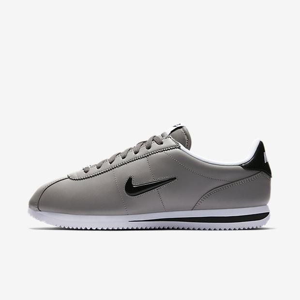 various colors 7b089 c547c Nike Cortez Basic Jewel Herren Schuhe Dust Weiß Schwarz 833238-001