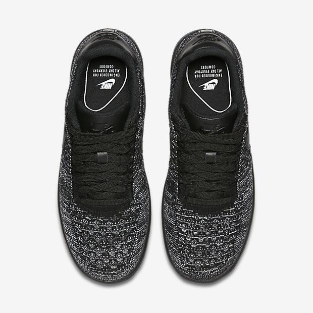 lowest price 69937 5e108 Nike Air Force 1 Flyknit Low Damen Schuhe Schwarz/Weiß/Schwarz 820256-007.  Regulaerer Preis: 118,09 €