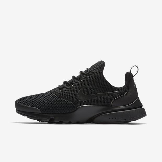 Nike Presto Fly, Herren Laufschuhe, Schwarz (Black 001
