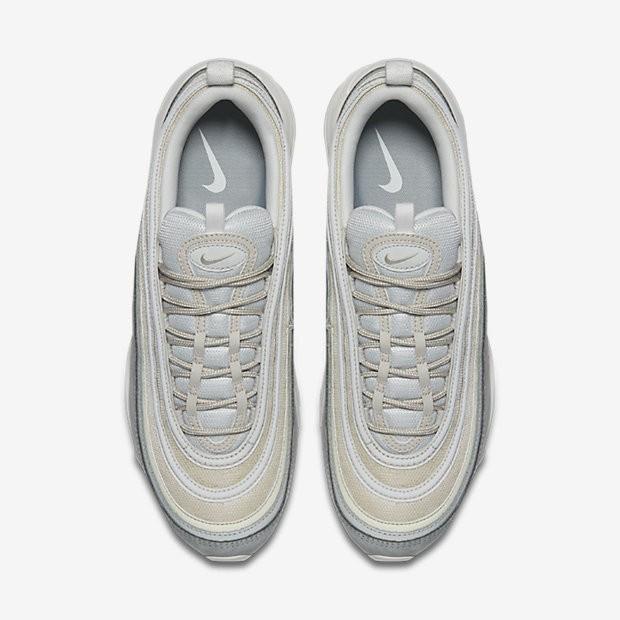 new arrival 77da0 871d7 Nike Air Max 97 Premium Herren Schuhe Light Pumice/Summit Weiß/Barely  Grau/Schwarz 312834-004