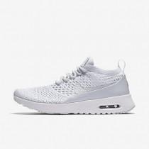 Nike Air Max Thea Ultra Flyknit Damen Schuhe Reines Platin/Weiß/Wolf grau 881175-002