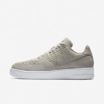 Nike Air Force 1 Flyknit Low Herren Schuhe String/Weiß/String 817419-200