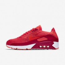 Nike Air Max 90 Ultra 2.0 Flyknit Herren Schuhe Bright Crimson/University Rot/Max Orange/Bright Crimson 875943-600