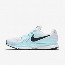 Nike Air Zoom Pegasus 34 Damen Laufschuhe Weiß/Aurora/Schwarz 880560-101