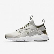 Nike Air Huarache Ultra Herren Schuhe Blassgrau/Cargo Khaki/Schwarz 819685-009