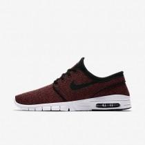 Nike SB Stefan Janoski Max Herren Skateboard Schuhe Track Rot/Cedar/Bright Mandarin/Schwarz 631303-606