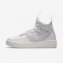 Nike Air Force 1 Ultraforce Mid Damen Schuhe Summit Weiß/Reines Platin 864025-100