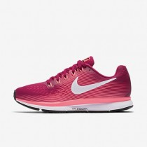 Nike Air Zoom Pegasus 34 Damen Laufschuhe Sport Fuchsia/Lava Glow/Racer Rosa/Weiß 880560-601