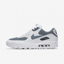 Nike Air Max 90 Essential Herren Schuhe Weiß/Waffenkammer Blau/Obsidian 537384-133