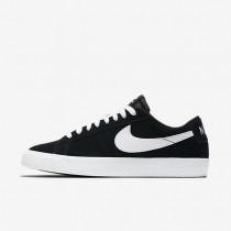 Nike SB Blazer Low Herren Skateboard Schuhe Schwarz/Gummi hellbraun/Weiß 864347-019