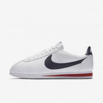 Nike Classic Cortez Leather Herren Schuhe Weiß/Gym Rot/Midnight Navy 749571-146