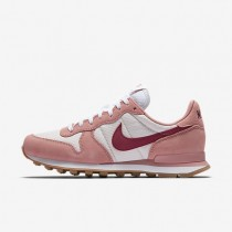 Nike Internationalist Damen Rot Stardust/Siltstone Rot/Gum Medium Braun/Noble Rot 828407-607