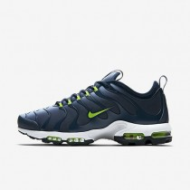Nike Air Max Plus TN Ultra Herren Schuhe Blau Grau/Armoury Navy/Weiß/Electric Grün 898015-400