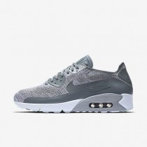 Nike Air Max 90 Ultra 2.0 Flyknit Herren Schuhe Reines Platin/Weiß/Wolf grau/Kaltes Grau 875943-003