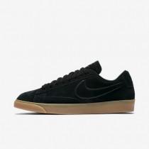 Nike Blazer Low Damen Schuhe Schwarz/Gummi hellbraun/Schwarz AA3962-002