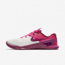 Nike Metcon 3 Damen Trainingsschuhe Reines Platin/Rosa mortal/Tea Berry 849807-005