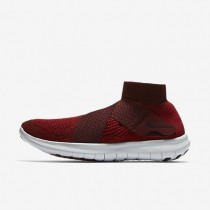 Nike Free RN Motion Flyknit 2017 Herren Laufschuhe Tough Rot/Hydrogen Blau/Total Crimson/Port Wine 880845-601