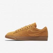 Nike Blazer Low Damen Schuhe Gold Dart/Gummi hellbraun AA3962-701