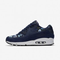 Nike Air Max 90 SE Damen Schuhe Binary Blau/Blau Moon/Summit Weiß 881105-400