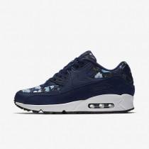 Nike Air Max 90 SE Damen Schuhe Binary Blau/Blau Moon/Summit Weiß 881105-400