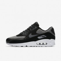 Nike Air Max 90 Essential Herren Schuhe Schwarz/Dunkelgrau/Chrome 537384-075