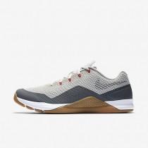 Nike Metcon Repper DSX Herren Trainingsschuhe Blassgrau/Gum Medium Braun/Dunkelgrau/Metallic Silber 898048-005