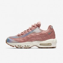 Nike Air Max 95 SE Damen Schuhe Rot Stardust/Sail/Gum Medium Braun/Washed Teal 918413-600