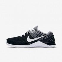 Nike Metcon Dsx Flyknit Herren Trainingsschuhe Schwarz/Weiß 852930-011