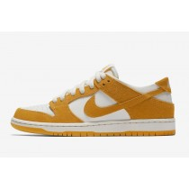 Nike SB Dunk Low Pro Herren Skateboard Schuhe Circuit Orange/Weiß 854866-881