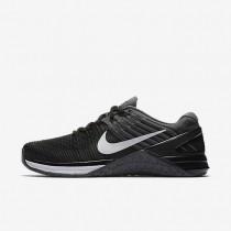 Nike Metcon Dsx Flyknit Damen Trainingsschuhe Schwarz/Dunkelgrau/Weiß 849809-005
