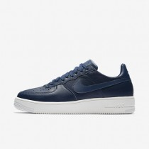 Nike Air Force 1 Ultraforce Leather Low Herren Schuhe Midnight Navy/Summit Weiß 845052-403