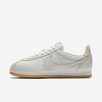 Nike Cortez SE Damen Schuhe Light Bone/Weiß/Gummi gelb 902856-002