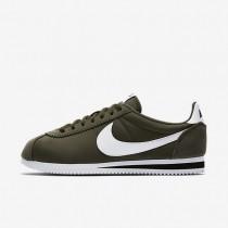 Nike Classic Cortez Nylon Unisex Schuhe Cargo Khaki/Schwarz/Weiß 807472-300