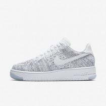 Nike Air Force 1 Flyknit Low Damen Schuhe Weiß/Schwarz/Weiß 820256-103