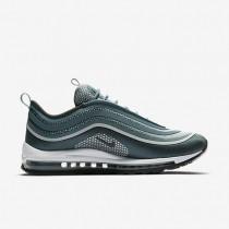 Nike Herren Air Max 97 Ultra '17 Jade/Reines Platin/Anthracite 918356-300