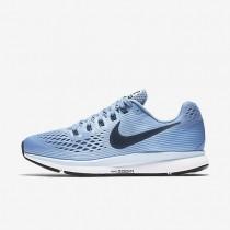 Nike Air Zoom Pegasus 34 Damen Laufschuhe Work Blau/Ice Blau/Weiß/Schwarz 880560-400