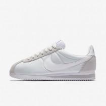 Nike Classic Cortez 15 Nylon Damen Schuhe Reines Platin/Weiß 749864-010